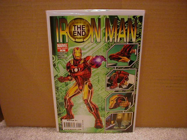 IRON MAN THE END #1 ONE-SHOT NM (2008)