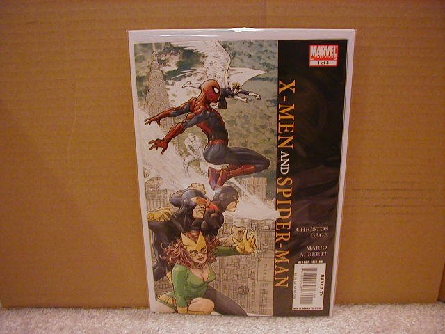 X-MEN AND SPIDER-MAN  #1 NM (2008)