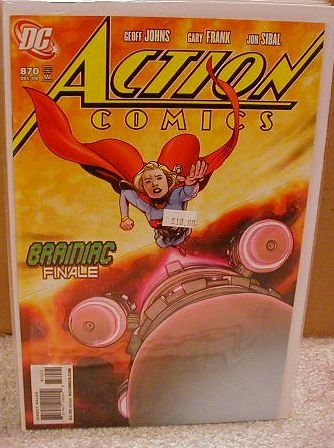 "ACTION COMICS #870 NM (2008)""VARIANT COVER"" ""DEATH ISSUE"""