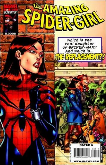 AMAZING SPIDER-GIRL #26 NM (2008)