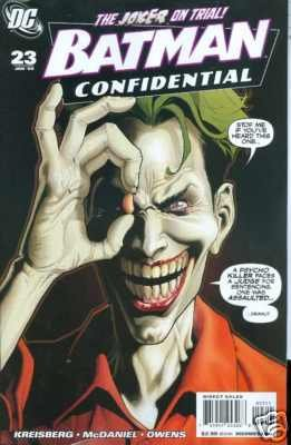 BATMAN CONFIDENTIAL #23 NM(2008) JOKER