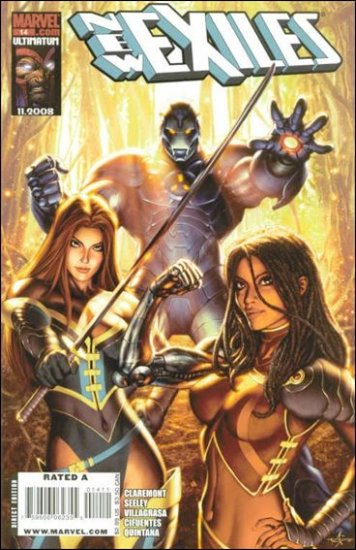 NEW EXILES #14 NM (2008)