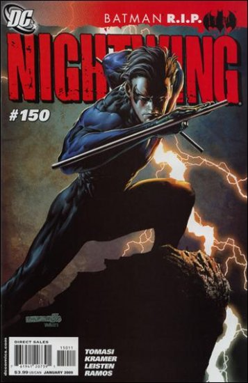 NIGHTWING #150 NM (2008) R.I.P.