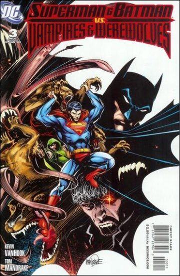 SUPERMAN & BATMAN VS. VAMPIRES & WEREWOLVES #3 NM (2008)