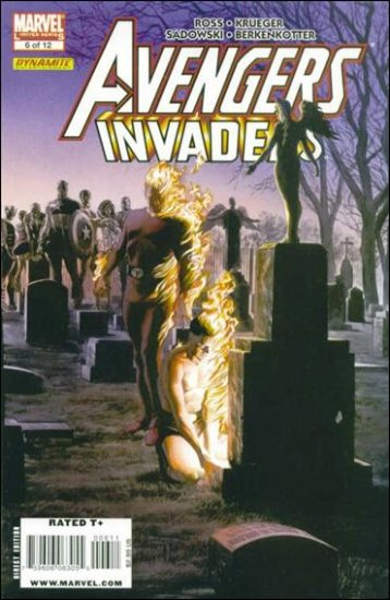 AVENGERS INVADERS #6 NM (2008)