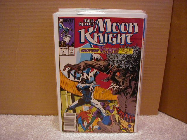MARC SPECTOR:MOON KNIGHT #6 VF(1989)