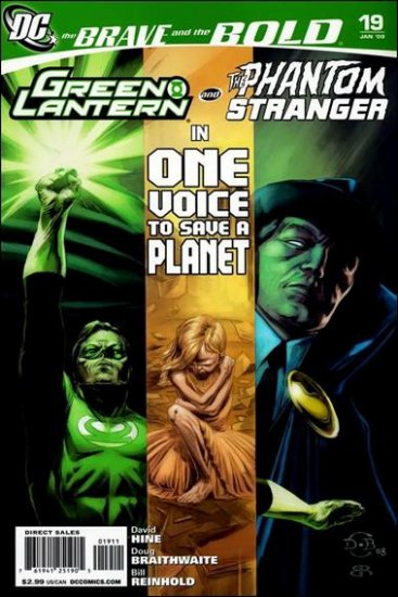 BRAVE AND THE BOLD #19 NM (2008) GREEN LANTERN & PHANTOM STRANGER