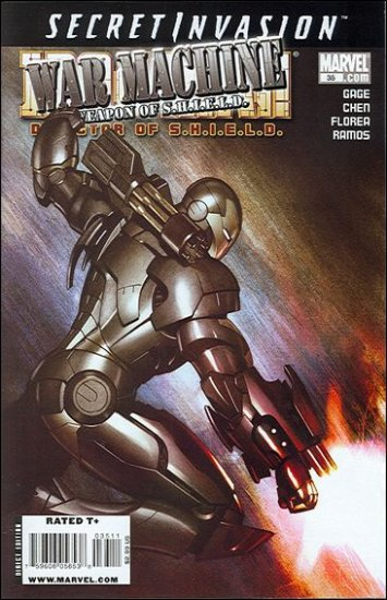 IRON MAN DIRECTOR OF SHIELD #35 NM (2008) SECRET INVASION- WAR MACHINE