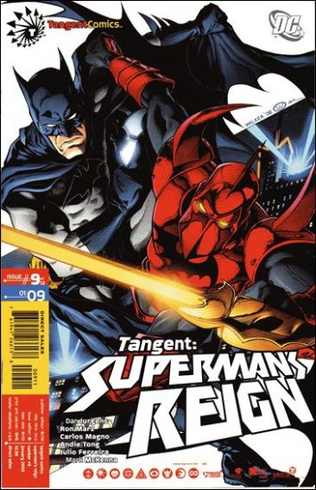 TANGENT SUPERMAN�S REIGN #9 NM (2008)