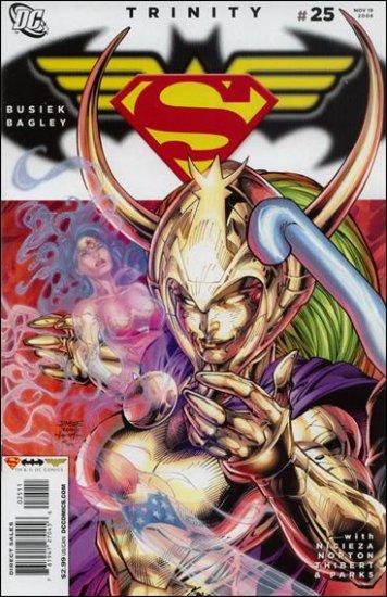 TRINITY #25 NM (2008) SUPERMAN, BATMAN, WONDERWOMAN