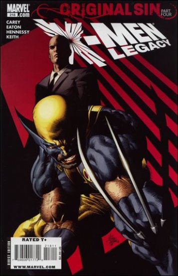 X-MEN LEGACY #218 NM (2008) ORIGINAL SIN PART TWO