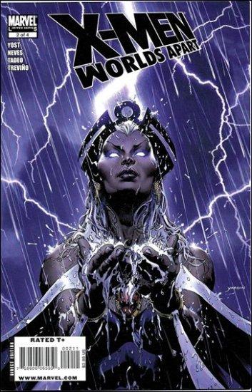 X-MEN WORLDS APART #2 NM (2008)