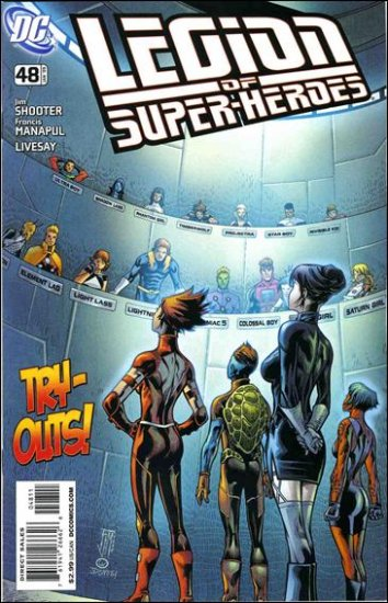 LEGION OF SUPERHEROES #48 NM (2008)
