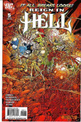 REIGN IN HELL #5 NM (2008)