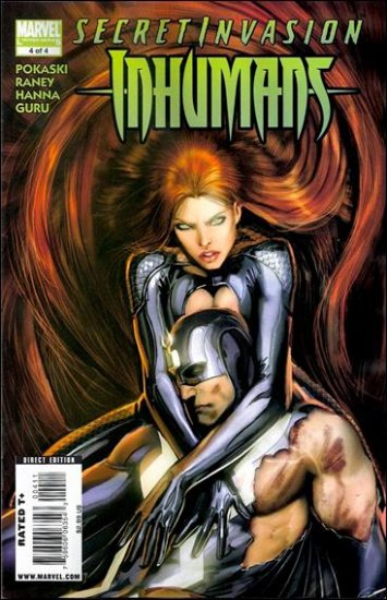 SECRET INVASION INHUMANS #4 NM (2008)