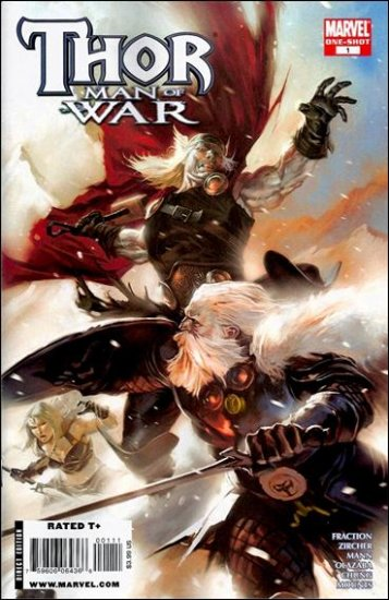 THOR MAN OF WAR ONE-SHOT NM (2008)