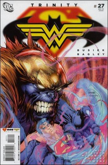 TRINITY #27 NM (2008) SUPERMAN, BATMAN, WONDERWOMAN