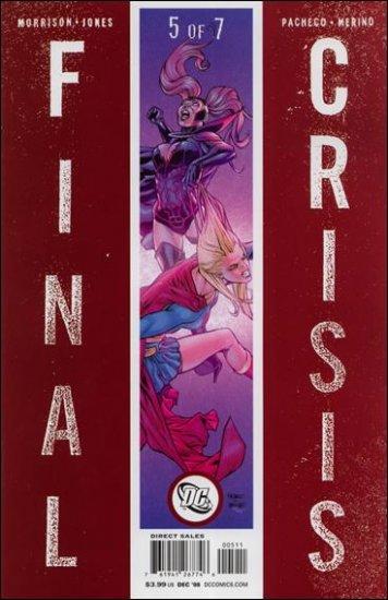 FINAL CRISIS #5 NM (2009) �A� COVER