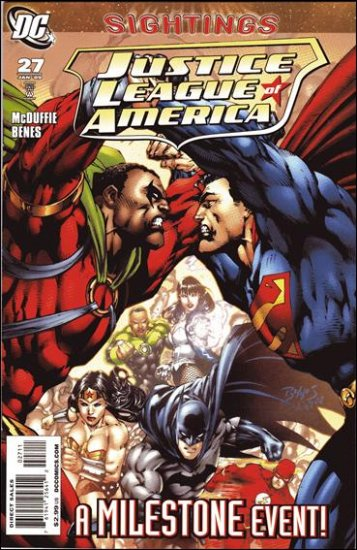 JUSTICE LEAGUE OF AMERICA #27 NM (2009)