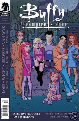 "BUFFY THE VAMPIRE SLAYER SEASON EIGHT #20 (2009) CVR ""B"""