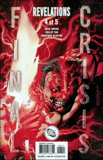 FINAL CRISIS REVELATIONS #4 NM (2008)  �A� COVER