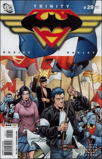TRINITY #29 NM (2008) SUPERMAN, BATMAN, WONDER WOMAN