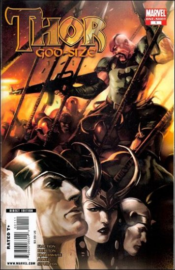 THOR GOD-SIZE ONE-SHOT NM (2009)