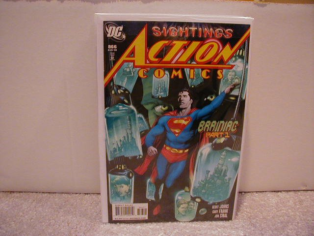 ACTION COMICS #866 NM(2008)