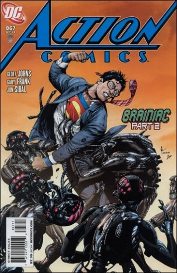 ACTION COMICS #867 NM(2008)