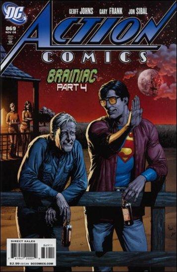 ACTION COMICS #869 NM(2008)