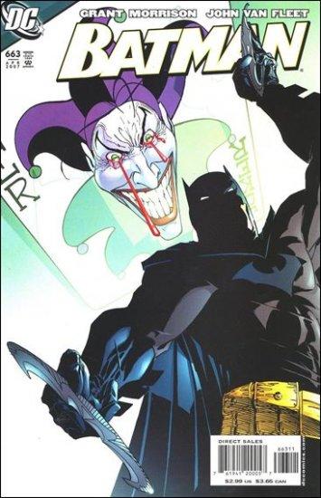 BATMAN #663 NM (2007) *JOKER*