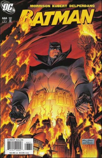 BATMAN #666 NM (2007)