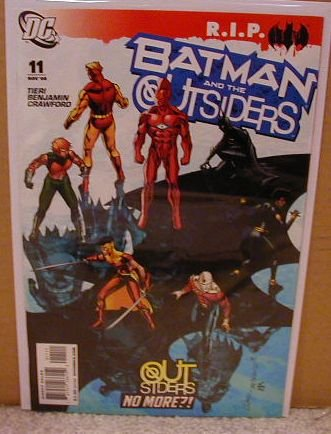 BATMAN AND THE OUTSIDERS #11 NM (2008)R.I.P.
