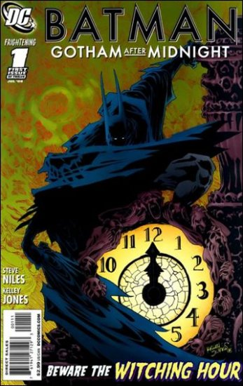 BATMAN GOTHAM AFTER MIDNIGHT #1 NM(2008)