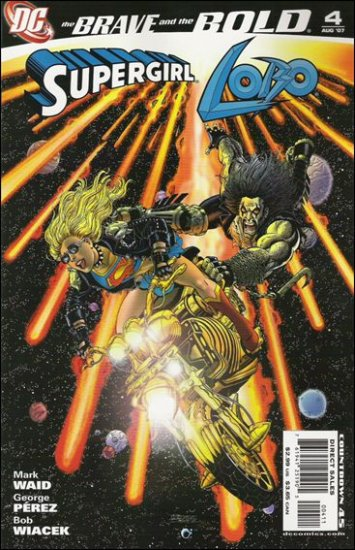 BRAVE AND THE BOLD #4 NM (2007) SUPERGIRL & LOBO