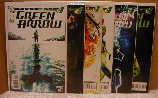 GREEN ARROW YEAR ONE #1-6   **FREE SHIPPING**