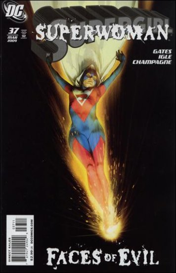 SUPERGIRL #37 NM (2009) FOE