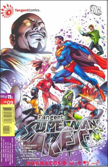 TANGENT SUPERMAN�S REIGN #11 NM (2009)