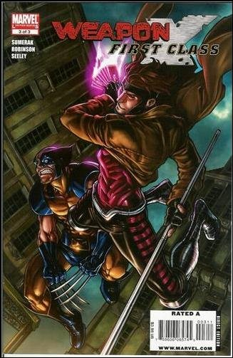 WEAPON X FIRST CLASS #3 NM (2009)