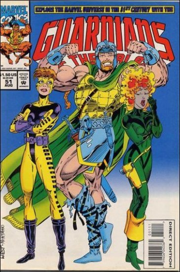 GUARDIANS OF THE GALAXY #51 VF/NM (1990)