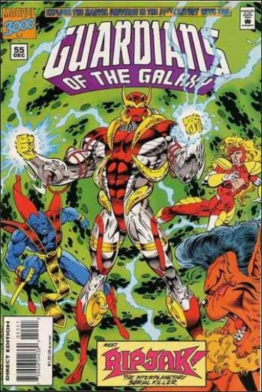 GUARDIANS OF THE GALAXY #55 VF/NM (1990)
