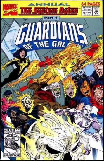 GUARDIANS OF THE GALAXY ANNUAL #2 VF/NM (1990)