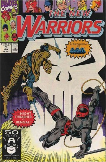 NEW WARRIORS #7 VF/NM (1990)
