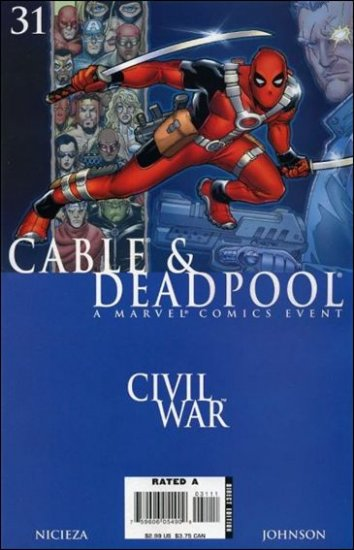 CABLE & DEADPOOL #31 VF/NM *CIVIL WAR*