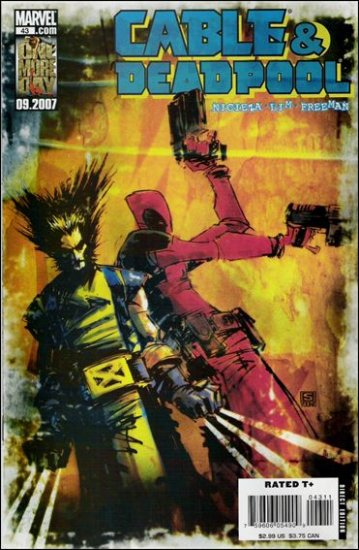 CABLE & DEADPOOL #43 VF/NM (WOLVERINE)