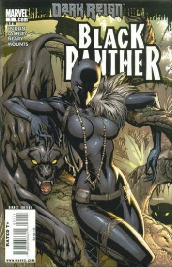 """BLACK PANTHER #1 NM (2009) DARK REIGN-  COVER """"A"""""""