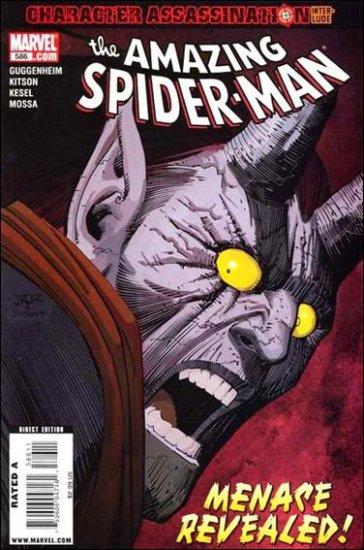 AMAZING SPIDER-MAN #586 NM (2009)MENACE REVEALED!