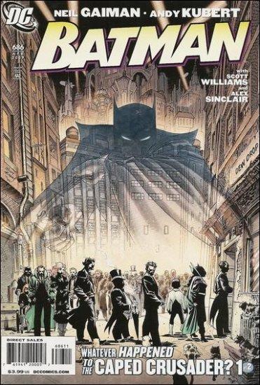 """BATMAN #686 NM(2009) """"B"""" COVER"""