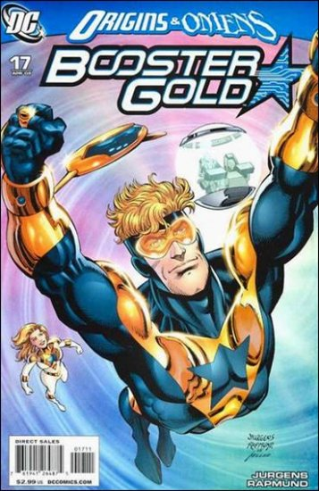 BOOSTER GOLD #17 NM (2009) ORIGINS & OMENS