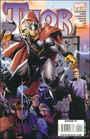 """THOR #600  (2009) """"A"""" COVER"""